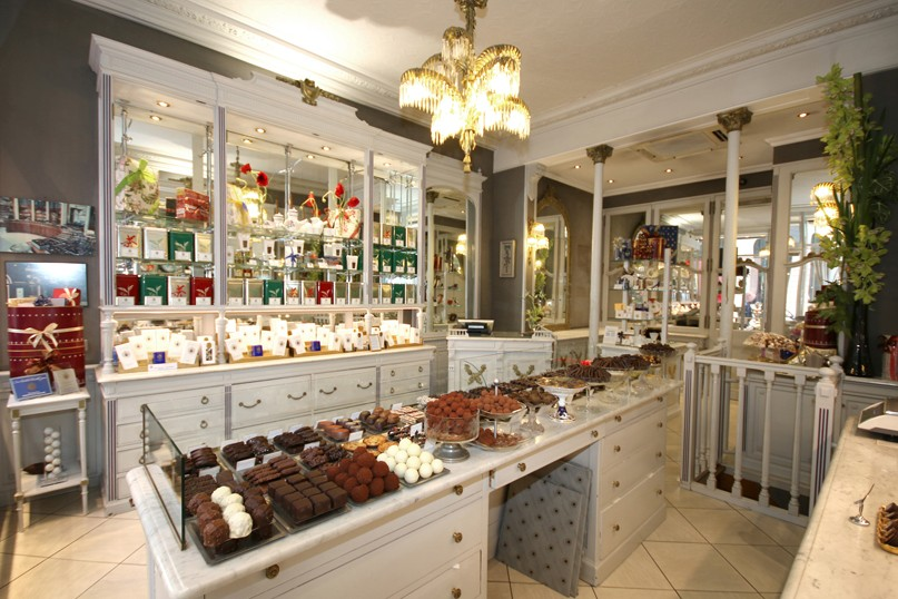 boutique de chocolats à paris rue vivienne